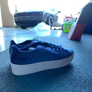 Blue Puma Creepers
